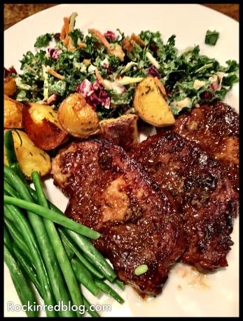 WVV pork chop dinner
