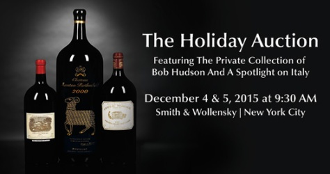 Zachys wine holiday auction