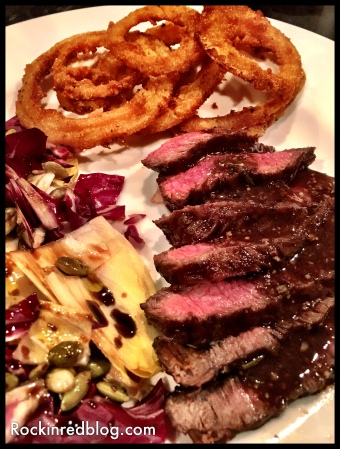 Flat iron steak dinner (2)