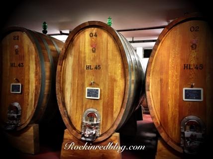 Poggio Antico slovinian oak casks