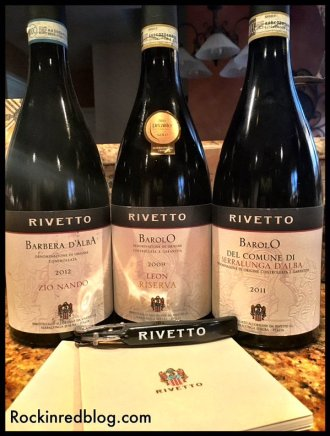 Rivetto wines