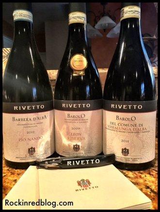 Rivetto wines