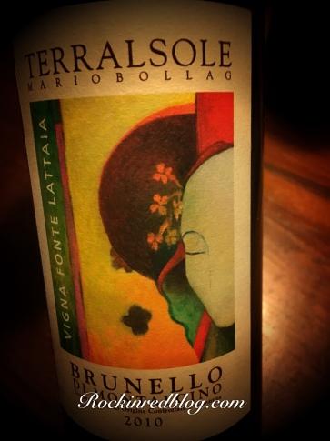 single vineyard 2010 Brunello di Montalcino