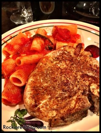 Calabria pork chops