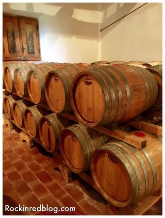 Felsina vin santo barrels