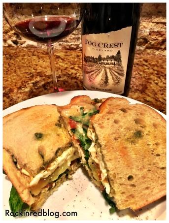 Paired great with a sourdough, pesto, chicken, tomato, arugula, harvarti & fried egg sandwich!