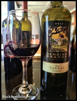 Texas Fine Wine Bending Branch Tannat
