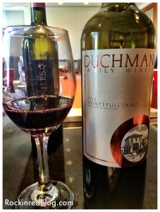 Texas Fine Wine Duchman Montepulciano
