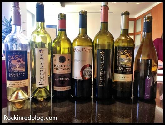 Texas Fine Wine tasting