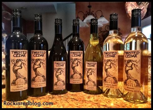 Twisted Cedar wine