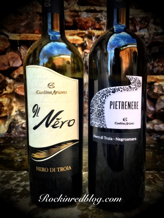 Cantina Ariano Il Nero and Pietrenerie Red