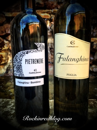 Cantina Ariano Pietrenerie and Falanghina