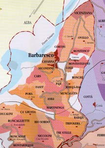Cantina del Pino Barbaresco map