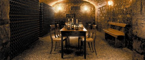 Prosecco Superiore Bisol wine cellar