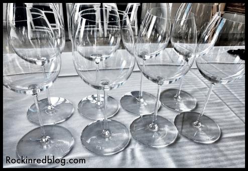 My beloved Baccarat crystal glasses.