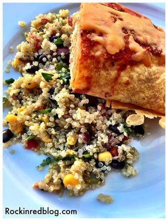 turky enchilad with tex mex quinoa2