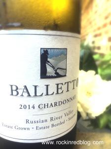 Balletto chardonnay 2014