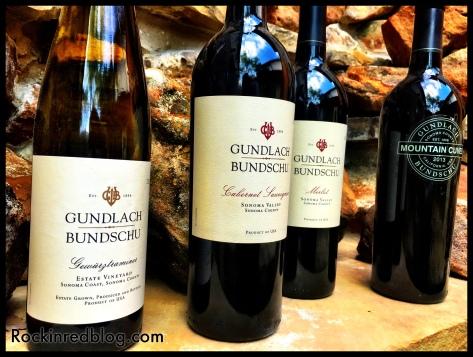 Gundlach Bundsche wines