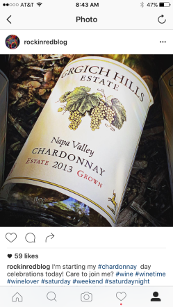 Kicking off Chardonnay Day week with the legendary Grgich Hills!