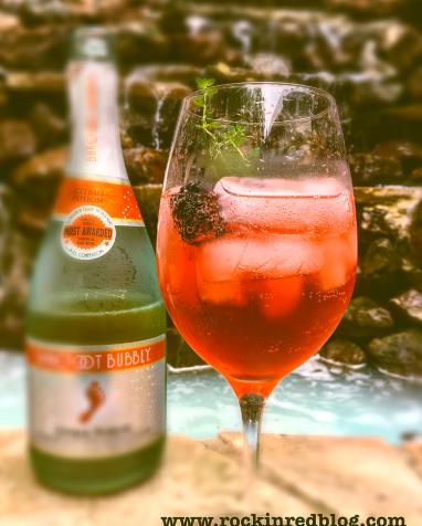 Barefoot citrus cocktail