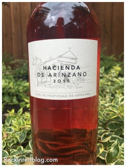 Hacienda De Arinzano 2015 rose