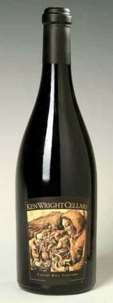 Ken Wright Cellars 2012 Abbott Claim Vineyards wine closure
