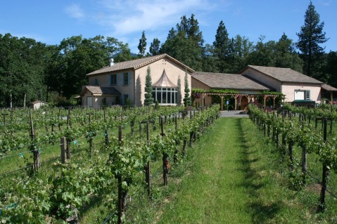 Troon Vineyard tasting room