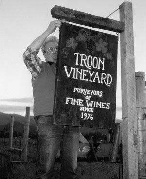 Troon Vineyards 1976