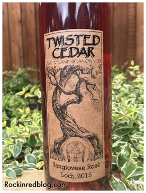 Twisted Cedar 2015 rose