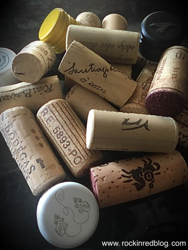 variety of wine closures