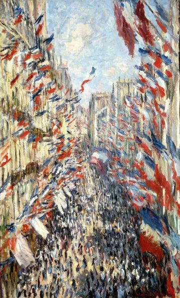 Bastille Day Celebration by Claude Monet