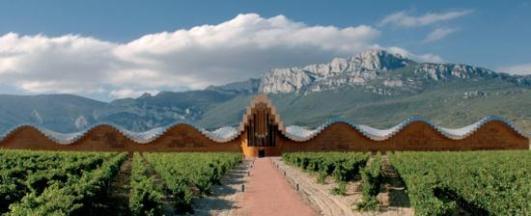 Bodegas Ysios in Rioja Alavesa www.spain.info