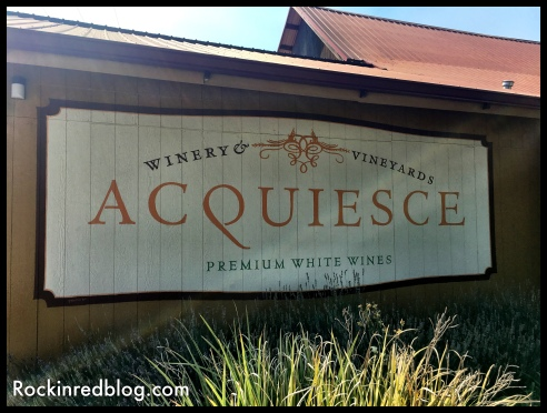 Acquiesce sign