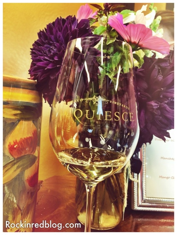 Acquiesce wine glass