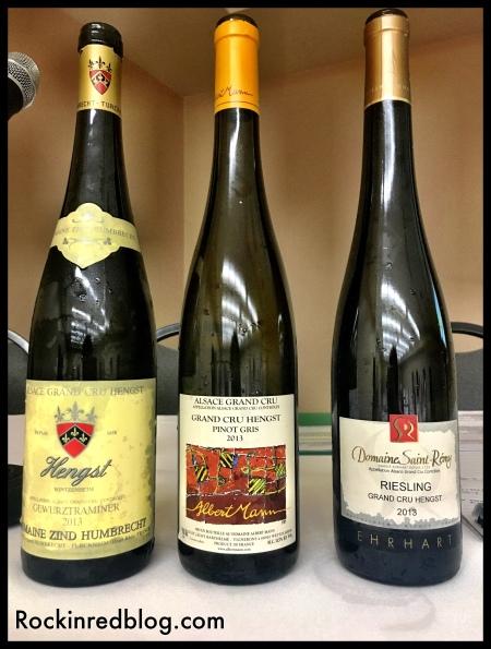 Alsace GC 2013 Hengst vineyard