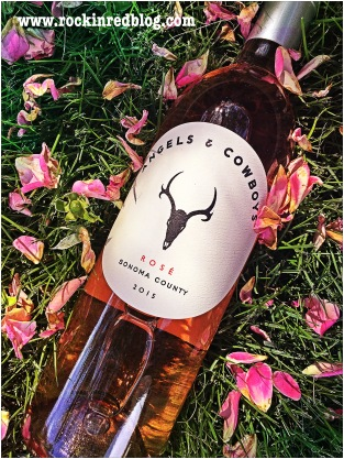 Angels and Cowboys Winestudio rose