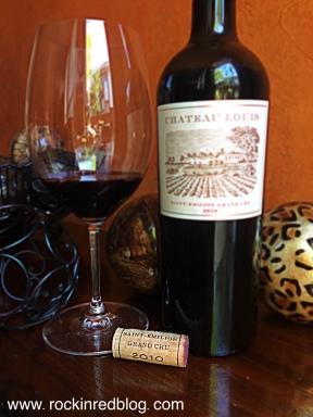 Chateau Louis St Emilion wine