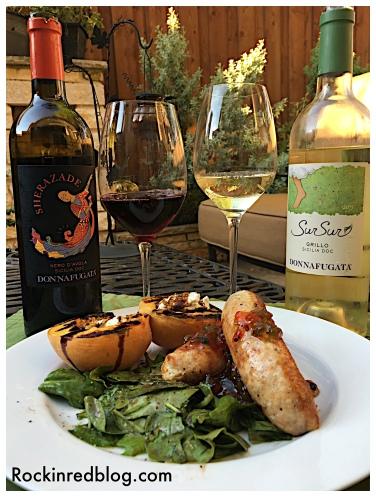 donnafugata dinner with wine