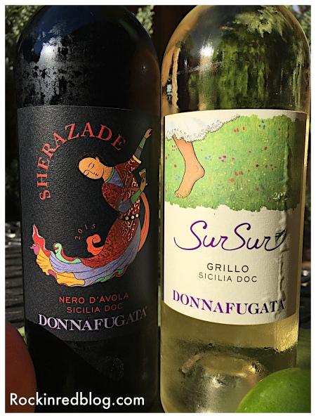 donnafugata red and white wines