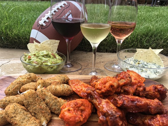 Football Foods and Wine Pairings2