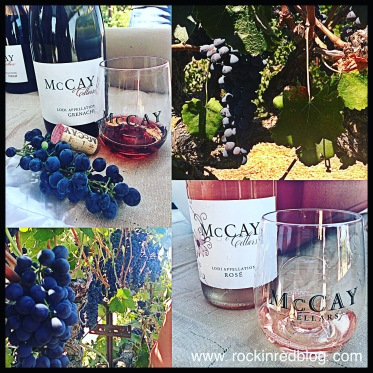 A visit to McCay Vineyards to taste Syrah and Grenache is always a treat!