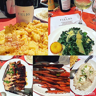 Cannot forget our last meal at WBC. Great food with even better wines. Did we sit at the Fields Family Wines table on purpose? You bet we did!