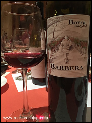 Cannot forget this stunning Borra Vineyard Barbera!