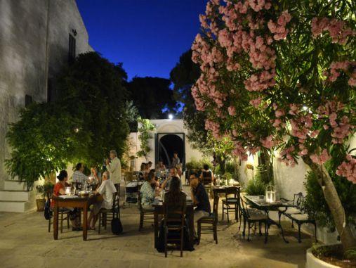 Masseria il Frantoio ristorante in Puglia