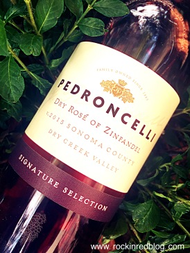 Pedroncelli winestudio rose
