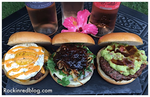 Provencal inspired burgers