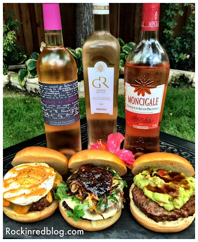 Provencal wines and burger pairings
