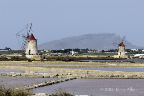 Saltponds of Stagnone Lagoon Marsala Sicily via allenfotowild