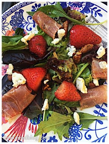 Sauvignon blanc salad