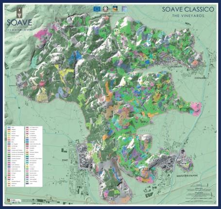 Soave Classico region via www.winefolly.com